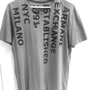 Armani Exchange T-Shirt - Almost New